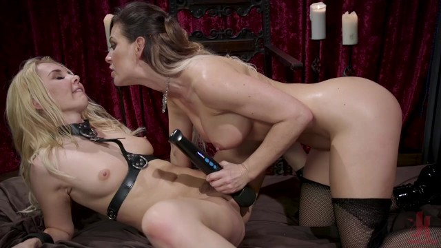 Cherie DeVille Dominates the Indomitable Aaliyah Love