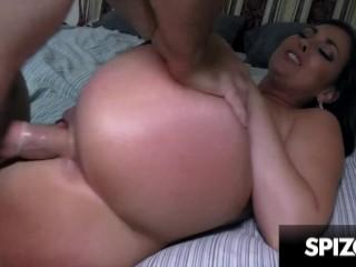 Butt bangs huge dick spizoo...