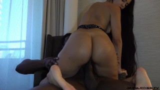 Colombian Queen Andreina Deluxe Loves Super Grande Dick