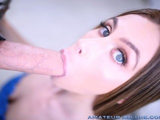 WHITNEY WESTGATE RETURNS TO SUCK COCK, FUCK AND SWALLOW CUM AMATEUR ALLURE