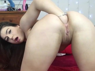 Teen extreme anal fisting...