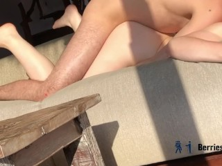 WATCH ME CREAMPIE YOUR PETITE GF (She orgasms as he fills her up)