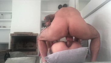 **EXCLUSIVE VIDEO PART 2--SEXTAPE AMATEUR-MORNING ANAL SEX & ASS TO MOUTH