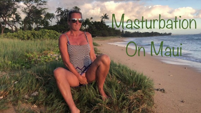 Sabrine maui tgp Masturbation on maui real teachers