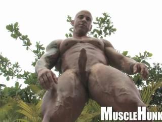 Big bodybuilder big dick vin marco...