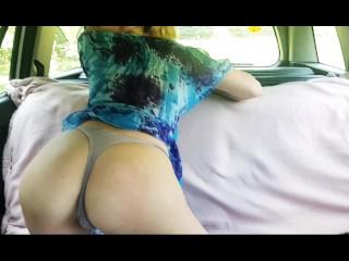 Anna rey fucking squirting near public...