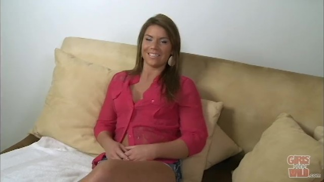 GIRLS GONE WILD - Chantelle From Michigan Gets Kinking During Casting 8