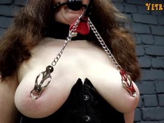 Slave wife gets spanked...