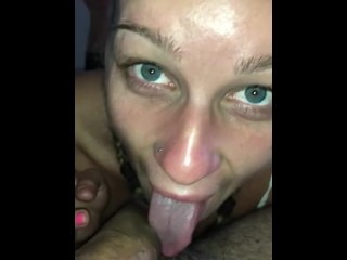 Amateur Teen- I suck , jerk off and swallow my BF before to sleep :-) (13 Aug 2019)