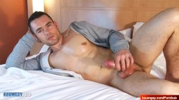 True straight male gets wanked by a guy in spite of him !