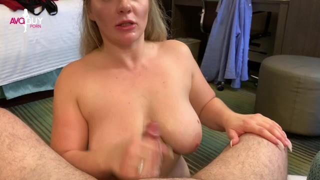 POV BJ & TItty Fucking Until Fan Cums on Huge Tits - Emmy Demure 28