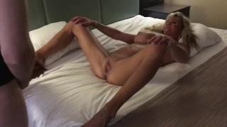 Long legs and big tits