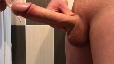 Growing up this monster dick and made huge cum sperm load!