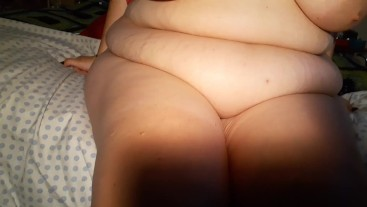 BBW Squirts With Roommate In The Next Room