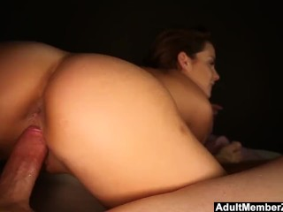 Natasha Gives A Very Passionate Blowjob and riding cowygirl