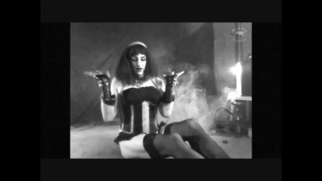Arabella Poppett: The Sultry Brunette Pt. 1 *Vintage Fetish Smoking* 11