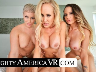 Naughty America Three hotties bang their friend's son in VR (16 Aug 2019)