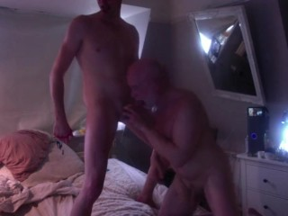 Bb british guy with raw mature client...