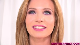Hot Milf Savannah Dixon takes on 2 Big Young Cocks in her first video!