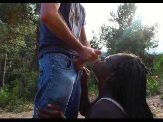 Ella B interracial 4k BWC cumming on my face outside (17 Aug 2019)