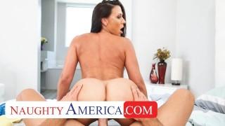 Naughty America Kassandra Kelly (Rachel Starr) takes care of her husband's