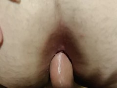I filled her gaping asshole with cum