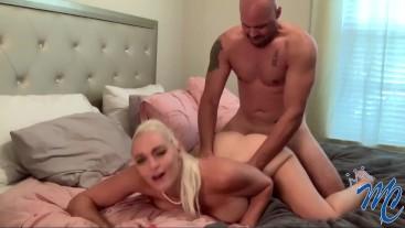 Blonde Slut Macy Cartel Gets Fucked and Creampied