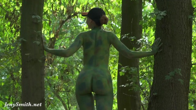 Teen nakede pussy pictures Invisible nakedness in the city. body art with public nude by jeny smith