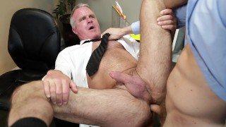 Gaywire - Jacob Peterson Puts His Dick In Boss Dale Savages Ass At Work