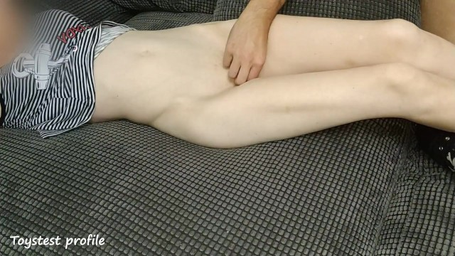 Young Tiny Stepsister Lets him Play with her Tight Pussy