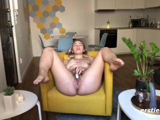 Sweet Amateur Legs Up, Pussy Dripping Wet (21 Aug 2019)