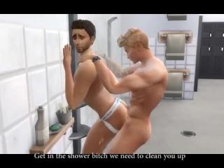 Gay gym shower slut sims 4...