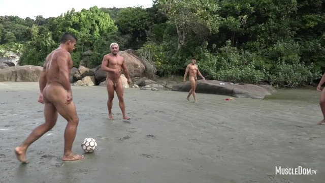 Gay naked men sex thumbnails Naked muscular football