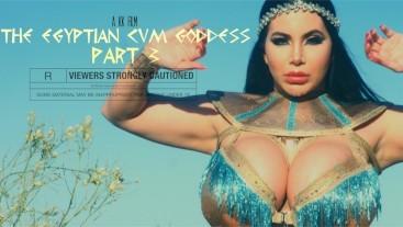 Egyptian Cum Goddess Pt 3