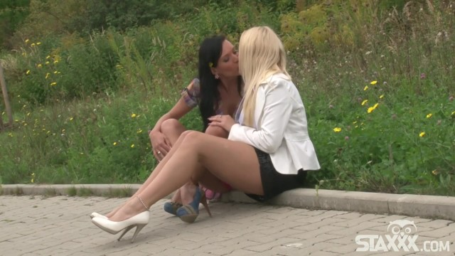 Horny European sluts want to get each other off 20