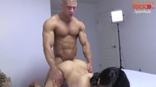 Buff Gym Rat Fucks Roomates Asian Lady. DICK MOVE BRO!