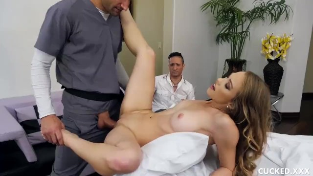 Fta people xxx - Cucked husbands hot blonde wife fuck the fat cock of the masseuse