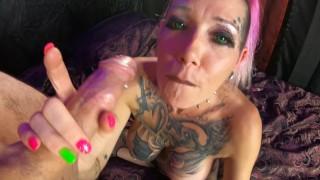 Chassidy Lynn - Smoking Milf, POV Anal, Huge Oral Creampie