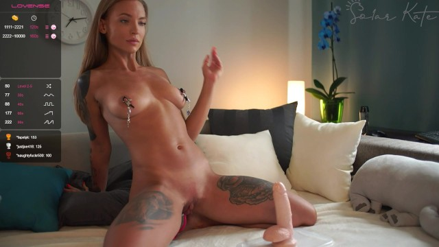 Streaming foreign porn Solar_kate soarkate chaturbate stream buttplug heels clamps, huge toys