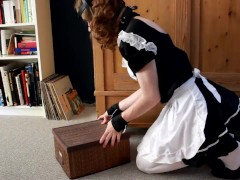 Daily chores as a sissy maid