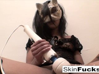 Very naughty pussy play with Sexy Skin