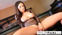 Wine closet masturbation with big tit Taylor Vixen
