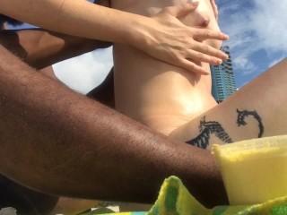 Shea butter babe miami rub down verified couple...