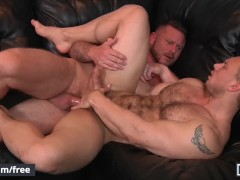Men.com - St8 husband cheats on wife with hairy hunk - John Magnum, Charlie
