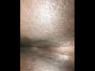 Creams all over dick...