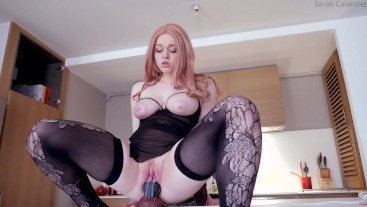 Creampied in the kitchen - Taming Dragons Vol. III with Bad Dragon Nova