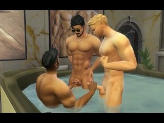 Orgy sims 4...
