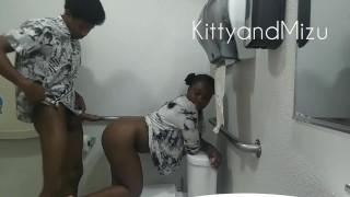 teenagers banging in the local bathroom – teen porn