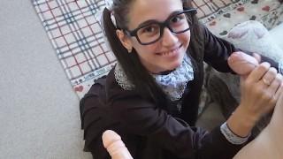 Cutie Schoolgirl Needs Two Dicks After School - MaryVincXXX