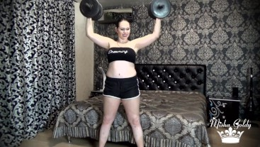 Weight lifting challenge! 40 times per exersise